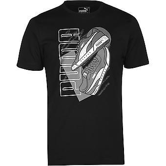 Puma Sneaker QT T Shirt Mens