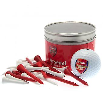 Arsenal FC Ball And Tee Set