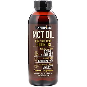 RAPIDFIRE, MCT Oil, Unflavored, 16 oz (473 ml)