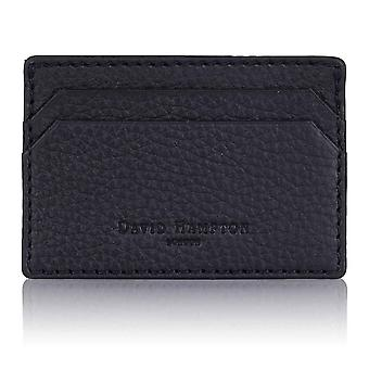 Slate Grey Richmond Leather Slim Card Holder