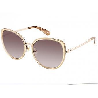 Sonnenbrille Damen  Jensen  Spiegellinse beige