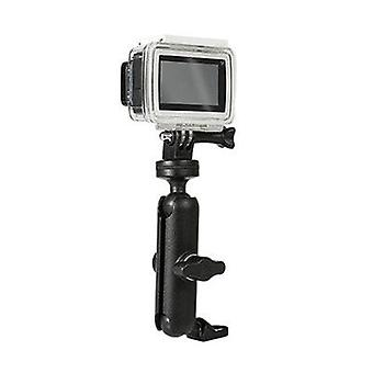 Motorcycle-bike Camera-holder Handlebar-mirror Mount Bracket 1/4 Metal Stand