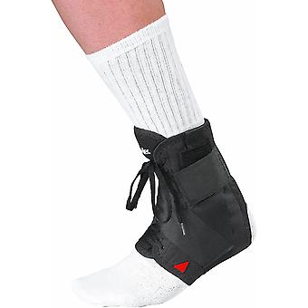 Mueller Soft Ankle Brace with Straps 1-Count Package