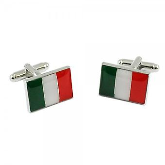 Solmiot Planeetta Italia Lippu Il Tricolore Italia Kalvosinnapeilla