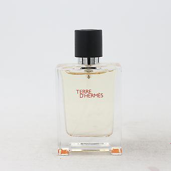 Terre D'hermes by Hermes Parfum Mini 0.42oz/12.5ml Spray New Without Box