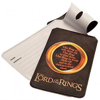 The Lord Of The Rings Bagage Tags