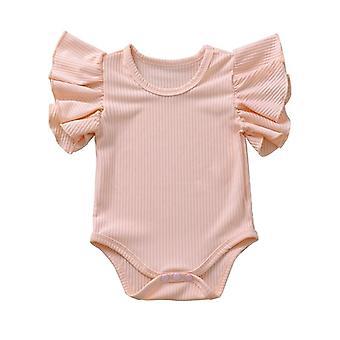 Body Suit Baby Girl pamut rövid ujjú karosszéria ruhák
