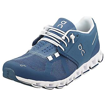 On Running Cloud Womens Running Trainers in Denim