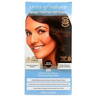 Tints of Nature Permanent Hair Color, 3N Natural Dark Brown 4.4 Oz