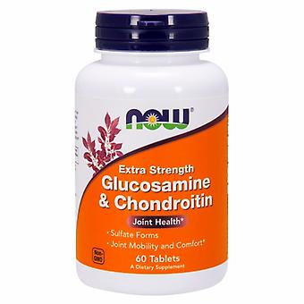 Now Foods Glucosamine & Chondroitin, Sulfate Extra Strength 60 Tabs