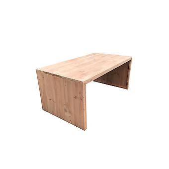 Wood4you - tuintafel dichte zijkant Douglas - 210Lx78Hx90D cm