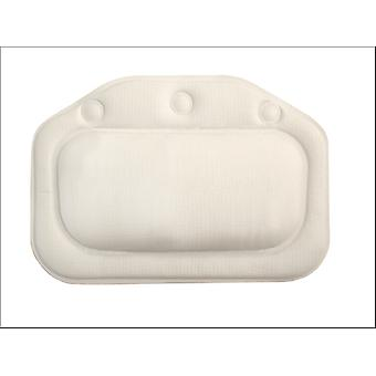 Croydex Bath Pillow Plain White BG207022