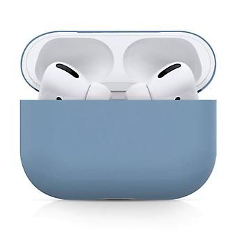 SIFREE Flexible Case for AirPods Pro - Silicone Skin AirPod Case Cover Smooth - Blue