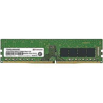 تجاوز 32GB DDR4 ذاكرة الوصول العشوائي 2666 U-DIMM 2RX8 (TS4GLH64V6E)