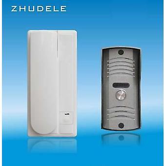 Sistema de Intercom de áudio de segurança- porta telefônica/áudio, função de desbloqueio