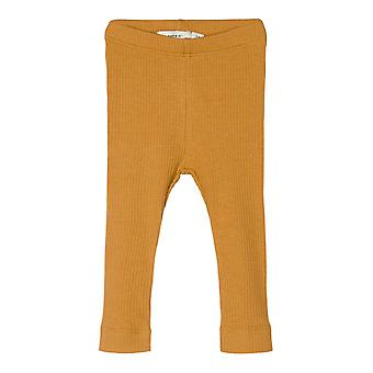 Name-it Unisex Pantalones Kabex Spruce Amarillo