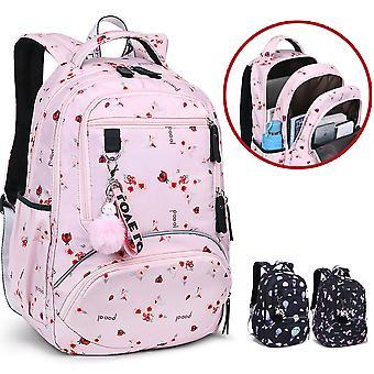 waterproof school backpack with print