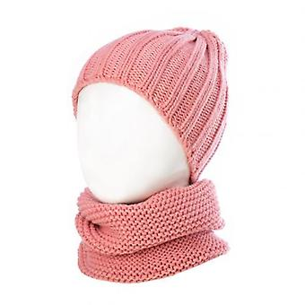 Lovely Cute Soft Baby Kids Yarn Knitted Winter Warm Beanie Cap Hat Scarf Spring