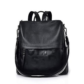 Genuine Leather Backpack Large Capacity School Bags / Bagpack