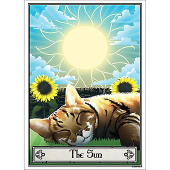 Deadly Tarot The Sun Felis Poster