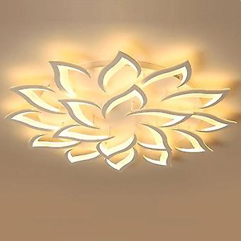 Led Remote Control, Flower Design-ceiling Chandelier Lamp