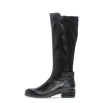 Gabor foulardcalfdankael schwarz laarzen dames zwart 002