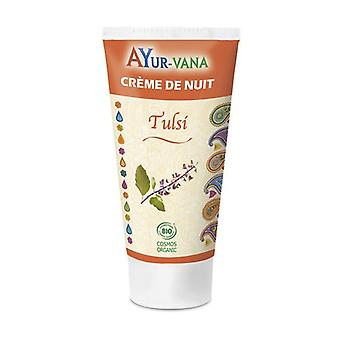 Tulsi Organic Night Cream 75 ml of cream