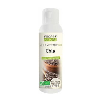 Organic chia vegetable oil 100 ml of oil