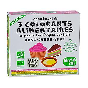 Food coloring 2 units of 30g