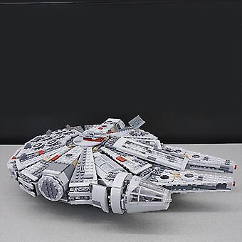 Millennium Eclipse Class Star Falcon, Tie Fighter Model, Wars Building Blocks,