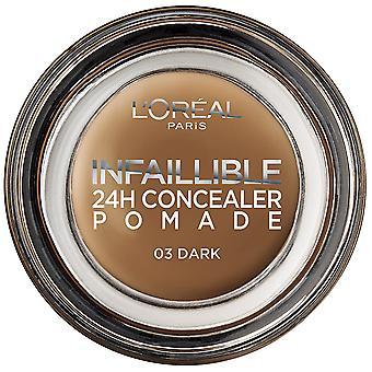 L'Oreal Paris Make Up Onfeilbare Salbenkorrektor 03 Dark