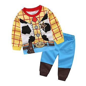Kinder Spielzeug Geschichte Woody Buzz Lightyear Pyjamas Set