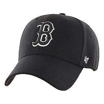 47 Brand MLB Boston Red Sox MVP Snapback Cap - Black