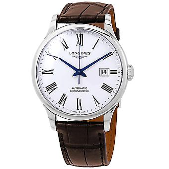 Longines Record Collection Automatic White Dial Men's Watch L2.821.4.11.2