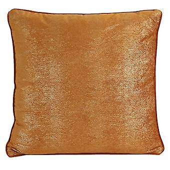 pillow Carola 45 x 45 x 10 cm textile orange