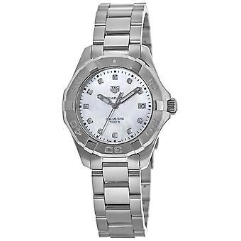 Tag Heuer Women's Aquaracer Pearl Dial Watch - WBD131B.BA0748