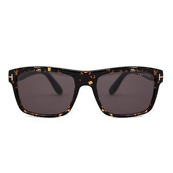 Tom Ford August Rektangulära solglasögon FT0678 52A 58