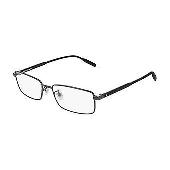 Montblanc MB0087O 001 Palladium Glasses
