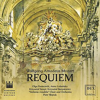 Mozart / Pasiecznik / Sinfonia Amabile Choir - Requiem in D Minor Kv 626 [CD] USA import