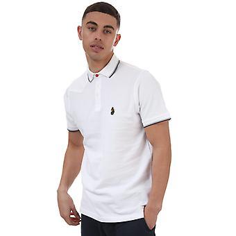 Men's Luke 1977 Tip Off 2 Polo Shirt in White
