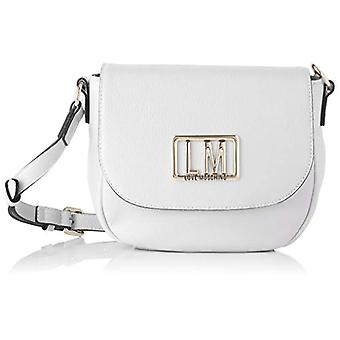 Love Moschino Pre-collection SS21 Pu Crossbody Bag for Women, Shoulder, White, Normal(2)