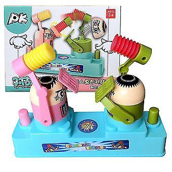 Różowy i zielony rodzic / dziecko podwójne gracza gra bojowa toy az6823