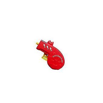 2Pcs rouge coloré ovni enfants pistolet-enfant az6347