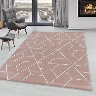 Soggiorno Tappeto POWER Short Pile Soft Design Linee geometriche pattern