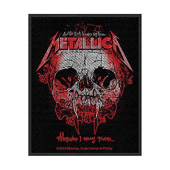 Metallica - Partout où je peux errer Patch standard