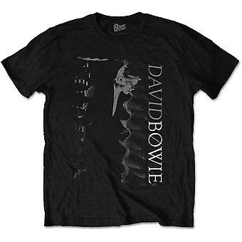 David Bowie - Camiseta grande unisex distorsionada - Negro