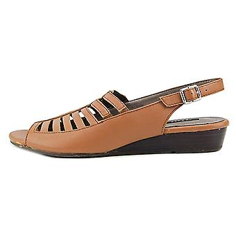 ARRAY Womens iris Leather Open Toe Casual Ankle Strap Sandals