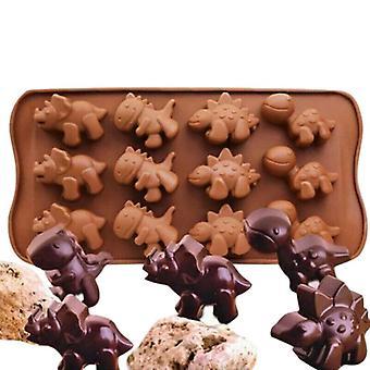 Dinosaur Silicone Fondant Chocolate Mould Cake Decorating Baking Mold Tools