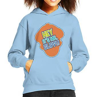 Blippi Hey Its Me Blippi Kid's Hooded Sweatshirt