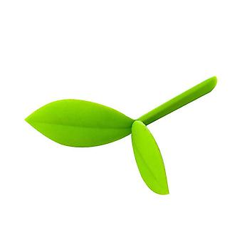 Creative Cute Little Grass Bud Shoot Bookmark Silicone Stationery Book Marker Silicone